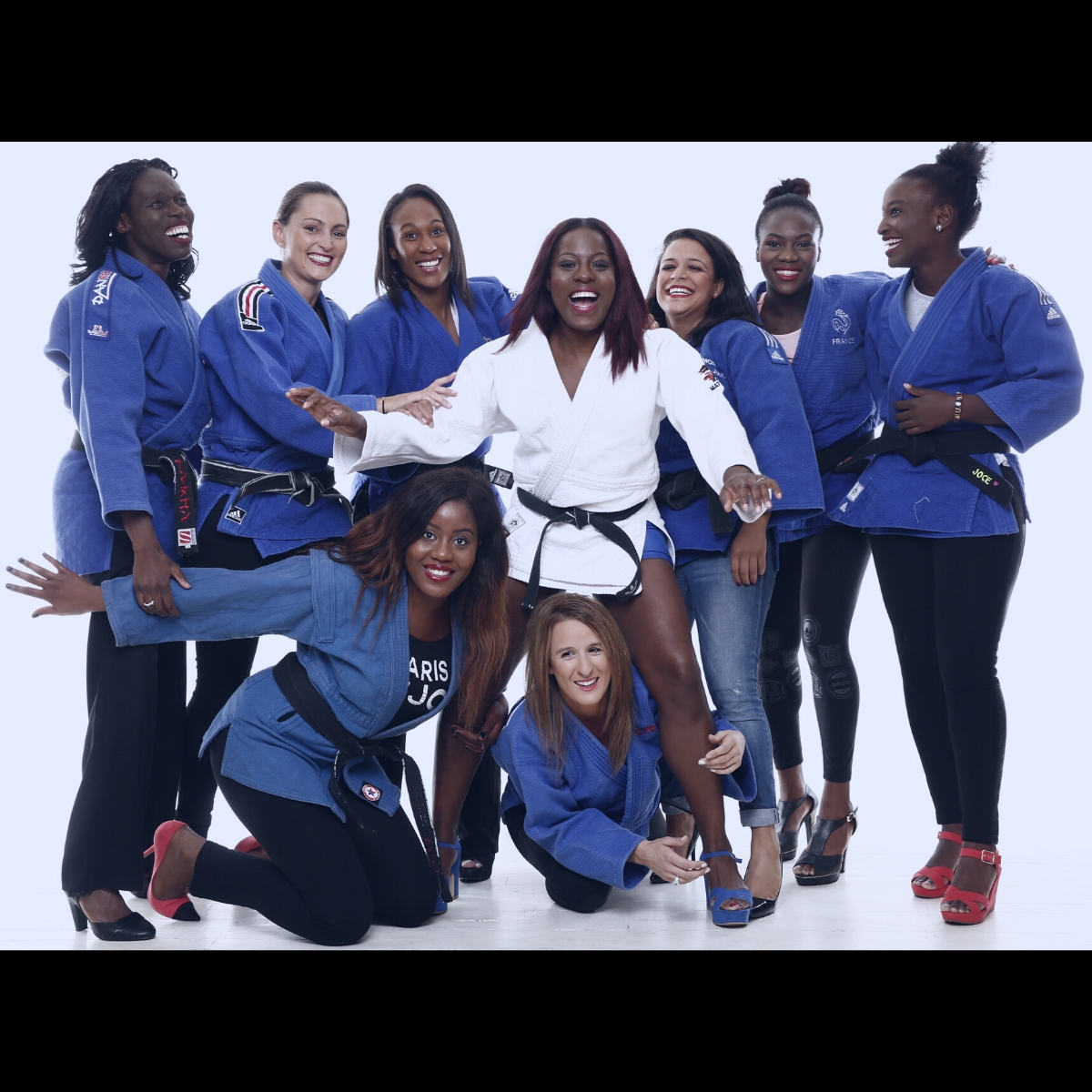Séance Photo Groupe Shooting Photo evjf - equipe de france de judo